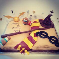 Harry potter cake main pic