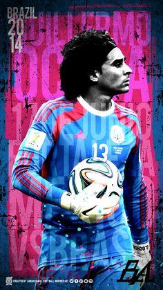 World Cup Brazil 2014 Art • Football inspires us! • LigraficaMX170614CTG #MEMOrable @Selección Mexicana