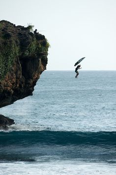 Surfing Magazine's the surfing list... 47.) jump off something high to the surf (pier, cliff, helicopter, etc)