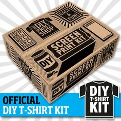 dream a little creative dream... DIY Print Shop T-Shirt Kit | ScreenPrinting.com by Ryonet