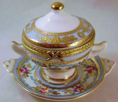China Limoges Trinket Box