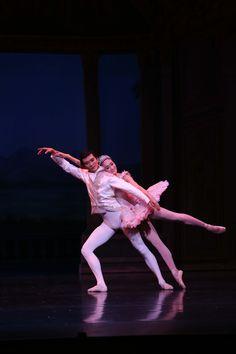 Principal Meng Ningning as Cinderella and Principal Hao Bin as the Prince in Queensland Ballet's Cinderella     Photographer: David Kelly
