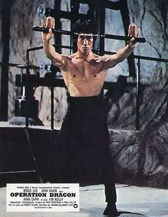 BRUCE LEE ENTER THE DRAGON OPERATION DRAGON 1973