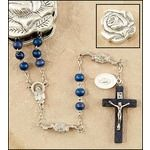Rosary with rose petal box