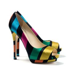 platform heels sandals designer | Multicolor platform pump Giuseppe Zanotti - Designer shoes at ...