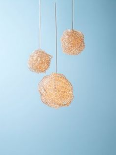 rope light chandelier by readymade