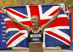 Paula Radcliffe. My inspiration. Marathon world record holder, yet to be healthy to win an olympic gold medal. LONDON 2012 BABY.