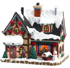 Lemax Village Collection Cozy Christmas Eve # Cozy Christmas Eve Item # 85351 Features Include: Lighted building With cord feet) ON / OFF switch Approx. Department 56 Christmas Village, Christmas Village Display, Christmas Villages, Christmas Traditions, Christmas Gifts For Women, Cozy Christmas, Beautiful Christmas, Christmas Mantles, Silver Christmas