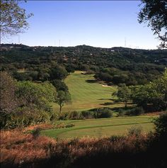 Fazio Foothills golf course at Barton Creek Resort & Spa in Austin, TX. This signature golf course is an astonishingly beautiful design masterpiece by Tom Fazio. The architectural layout features dramatic cliff-lined fairways, natural limestone caves, waterfalls, and superb TiffEagle Bermuda greens, which gives golfers 18 holes of pure pleasure with no lack of challenge.