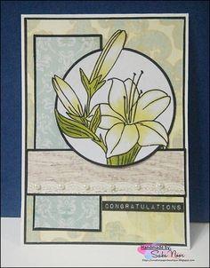 Circle Card + Guest Designer @ CRAFT Challenge ~ Creative Paper Boutique