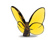 The Baccarat crystal butterfly