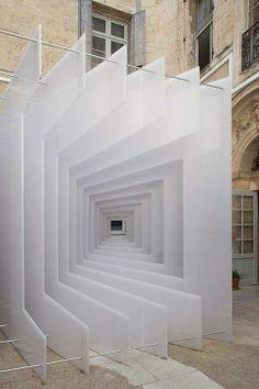 Porque tudo é uma questão de perspectiva...  Foto: Reframe by Paul Scales and Atelier Kit, design dautore
