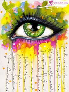 Sacred Eye  Art Print by willowing on Etsy