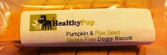 Gluten-Free Pumpkin and Flax Seed Biscotti