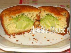 Amehlia Digital: Bolinho (Muffin) de brócolis