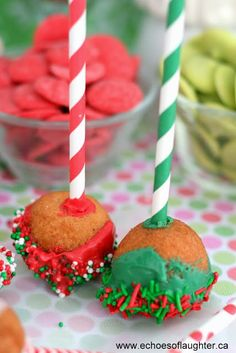Timbit cake pop party!