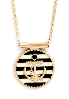 Maritime Morning Necklace, #ModCloth