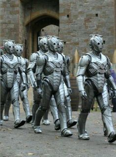 First Look At Redesigned Cybermen From Neil Gaiman's Second Doctor Who Doctor Who Series 7, Doctor Who Episodes, Second Doctor, Neil Gaiman, Tv Guide, Dr Who, Science Fiction, Creepy, Sci Fi