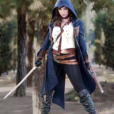 Monika Lee (USA) as Arno Dorian from Assassin's Creed. Photos I and III by: Carlos G Photography Photo II by: Dave Yang Photography Epic Cosplay, Amazing Cosplay, Cosplay Girls, Cosplay Ideas, Costume Ideas, Awesome Costumes, Anime Cosplay, Girls Fashion Clothes, Girl Fashion