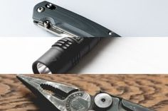 edc - knife flashlight bulb