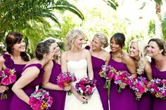 Love this wedding AND they are wearing my bridesmaids dresses :)