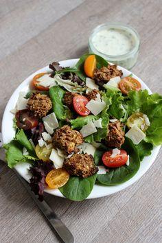 Bonjour Darling - Blog Illustration, Cuisine et DIY Bordeaux: Salade César légère