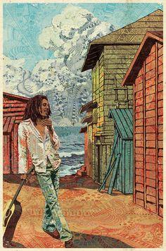 Ilustrações com padrões do designer português Luís Alves;                                                                                                                                                                                 Mais