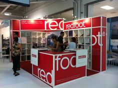 Redfoot shoes re-brand and Pure London exhibition stand created by the Photolink design team!