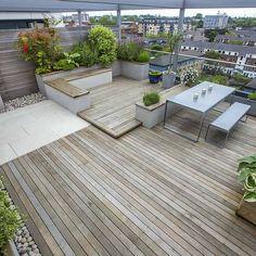 Roof Terrace Design King's Cross #RooftopGarden