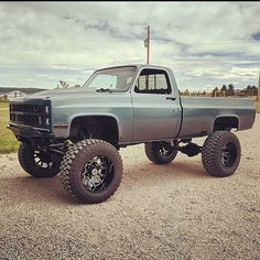 Chevy Pickup Trucks, Lifted Chevy Trucks, Gm Trucks, Chevy Pickups, Cool Trucks, 4x4, Square Body, Way Of Life, Dream Cars