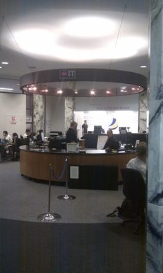 Service desk at UQ