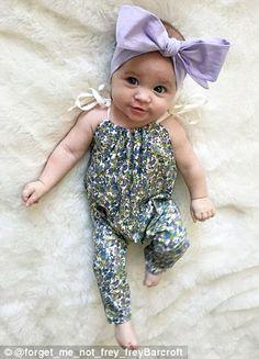 little flower lady <3