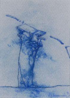 Genio III (1993) Dibujo 7 x 10 Cm.