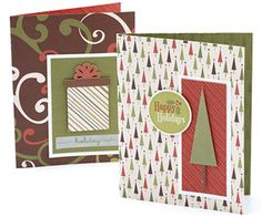 Choose Coordinating Scrapbook Products to Make Holiday Cardmaking Easy