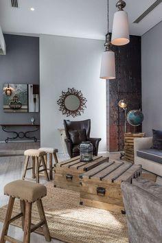 Amwaj Villa by Moriq Interiors and Design Consultants Interior Exterior, Home Interior Design, Interior Ideas, Level Homes, Modern Rustic Interiors, Design Consultant, Pallet Furniture, Interior Architecture, Living Spaces