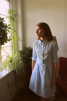 All Style and All Substance: Completed: Pauline Alice Gingham Cami Dress