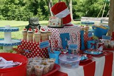 Greta party ideas for Cat in the hat
