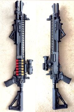 Remington 870 Combat Build (I would have a red dot sight vs.