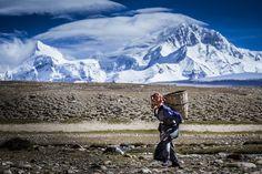 """Shishapangma Ski Challenge 2013"" was the first event of the five-year project called Hic Sunt Leones..   photo: Marcin Kin Photography #suntleones #shishapangma #women #mountains"