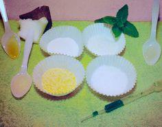 scrub viso miele, olio di argan, menta e cocco