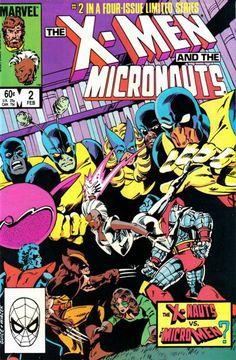 X-Men and the Micronauts # 2 by Butch Guice & Bob Wiacek