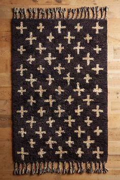 Sep 2019 - Moroccan Cross Rug by Anthropologie in Grey, Rugs Hand Knotted Rugs, Hand Weaving, Area Rug Placement, Flokati Rug, Lounge, Natural Fiber Rugs, Rug Making, Vintage Rugs, Area Rugs