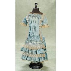 antique doll trunk clothes   Antique Doll/Children's Clothing II / View Catalog Item - Theriault's ...