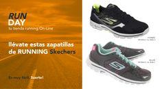 """PARTICIPA EN EL SORTEO DE ESTAS ZAPATILLAS DE RUNNING  """"SKECHERS"""" Con RUNDAY tu tienda de running On-line"""