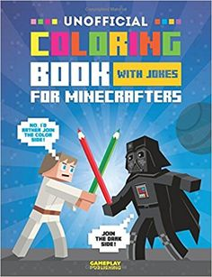 Unofficial Coloring Book With Jokes For Minecrafters: Gameplay Publishing: 9781542648431: Amazon.com: Books