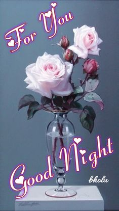 for you my dear good night