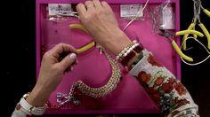 Cómo Hacer un Collar para Mujer con Cordon Tejido y Perlas Rojas - Hogar Tv  por Juan Gonzalo Angel - YouTube