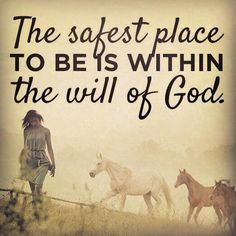 The safest place in the world is within the will of God AMEN! Biblical Quotes, Spiritual Quotes, Faith Quotes, Bible Quotes, Love The Lord, Gods Love, Journal Ideas Smash Book, Daughter Of God, Daughters