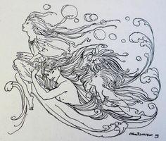 Harry Clarke the little Mermaid - Google Search