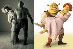 O Shrek realmente existiu.